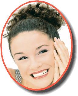 """若々しい肌と同じように、""""白く輝く歯""""は美への追求!"""