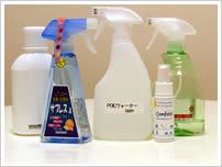 除菌水スプレーと抗菌水スプレー